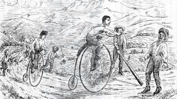 A bicikli igenis hasznos valami, férfias mulatság