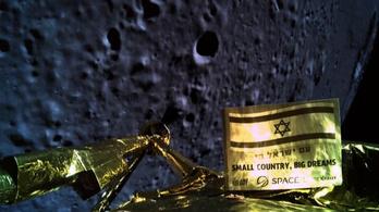 Becsapódott a Holdba az első privát szonda