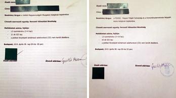 A Jobbiknak bizonyítéka van arról, hogy ők adták le először az ajánlóíveket