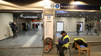 2023-ra teljesen akadálymentes lehet a felújított 3-as metró az Árpád hídnál