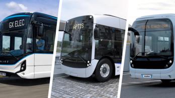Párizs belehúz: közel 800 elektromos buszt vesz a város