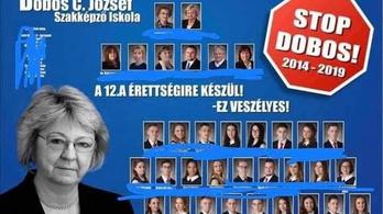 Miért törölték a sorosozó kormányplakátos iskolai tablót?