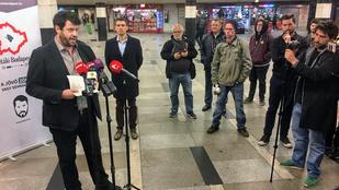 Puzsér elpukkantotta a kampánystartpisztolyát a Blaha aluljáróban