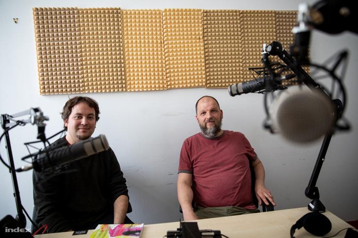 Soltész Béla (balra) és Kováts András