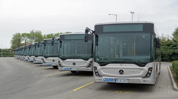 50 új magyar Mercedes buszt kap hat vidéki város