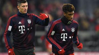 A Bayern-edző elbeszélgetett a verekedőkkel