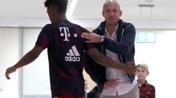 Robben attól tart, lejátszotta utolsó meccsét a Bayernben