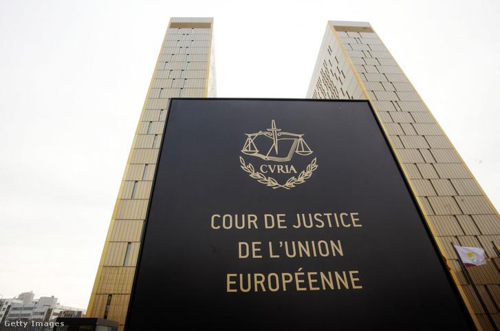 Az Európai Bíróság épülete Luxembourgban