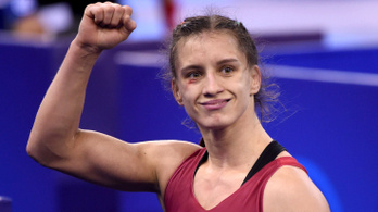 Barka Emese az első magyar női Európa-bajnok bírkózó