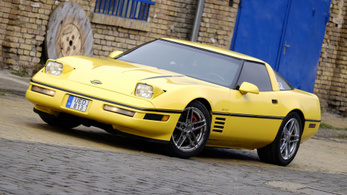 Youngtimer: Chevrolet Corvette C4 – 1992. és a Cross Hungary-kihívás