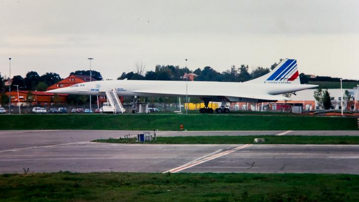 Egy elfekvő Concorde is volt a sublótban