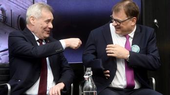 Adóemeléssel kampányol a finn miniszterelnök-jelölt