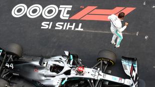 Hamilton jó rajttal húzta be az 1000. F1-futamot Kínában - A 2019-es Kínai Nagydíj, az F1 1000. nagydíjának közvetítése körről körre