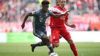 Nem tett be a hétközi balhé a Bayernnek