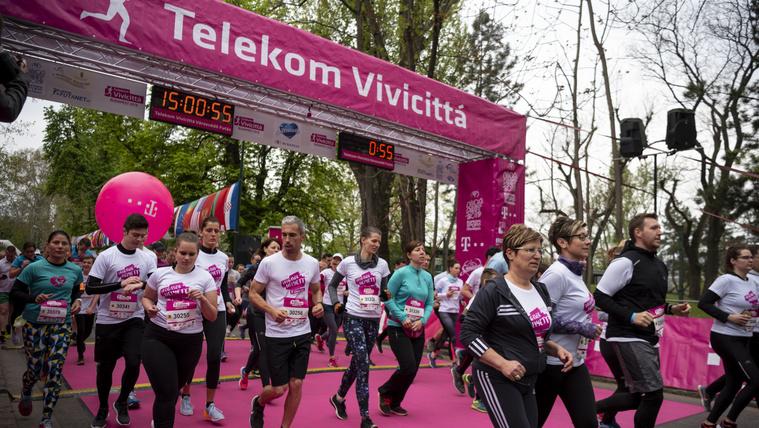 Rekordsokan futottak a hétvégén a Vivicittán