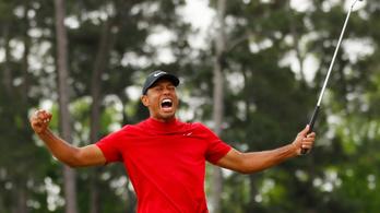Tiger Woods 14 év után nyerte meg a Masterst
