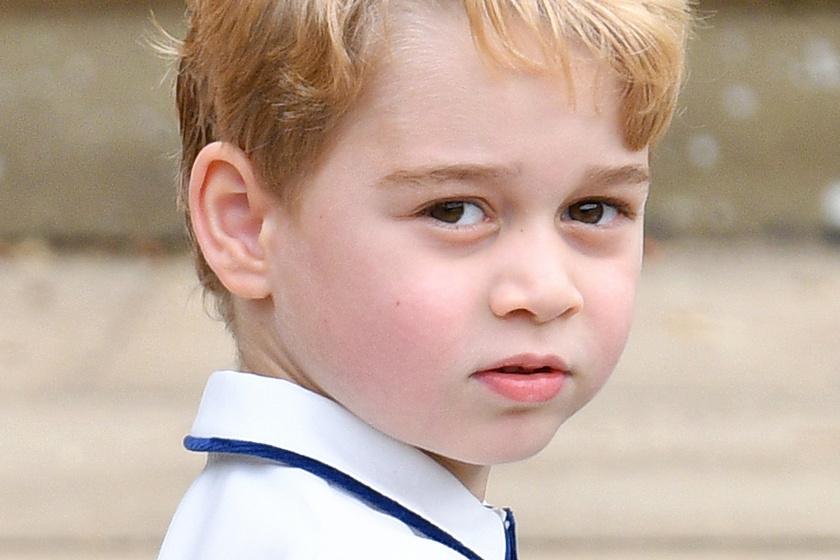 György herceg már ilyen nagyfiú - Katalin és Vilmos fia hatalmasat nőtt