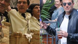 Antonio Banderas és Ben Affleck elég eltérően ünnepelte virágvasárnapot