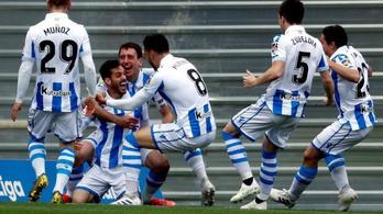 11 mp. a spanyol futballszezon leggyorsabb gólja