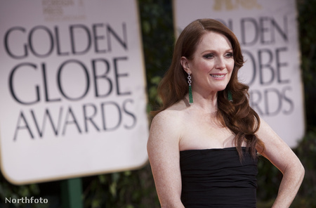 Julianne Moore a Golden Globe-kiosztón