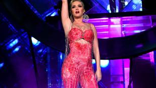 Katy Perry meglepetésfellépett a Coachellán, Orlando Bloom más koncerten volt