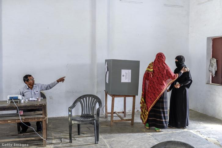Parlamenti választás Indiában 2019. április 11-én.
