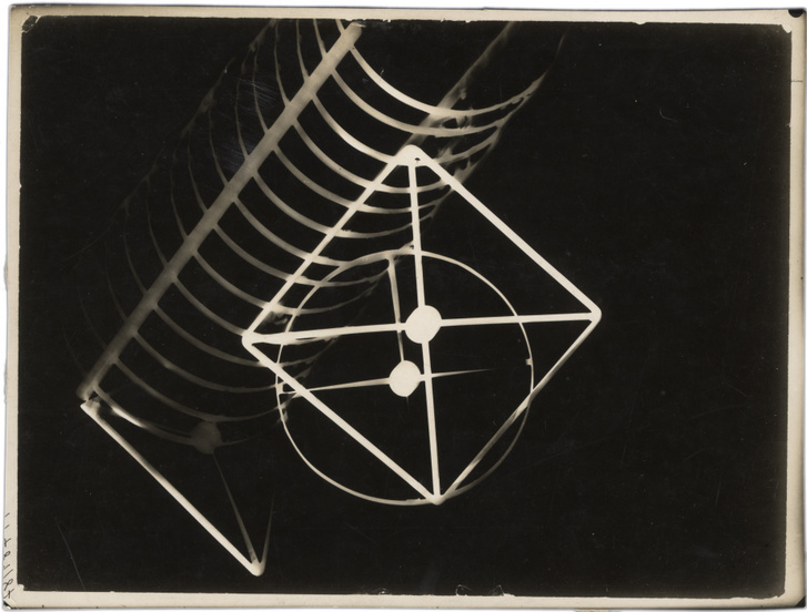 Moholy-Nagy László: Fotogram, 1922k., zselatinos ezüst, MFM