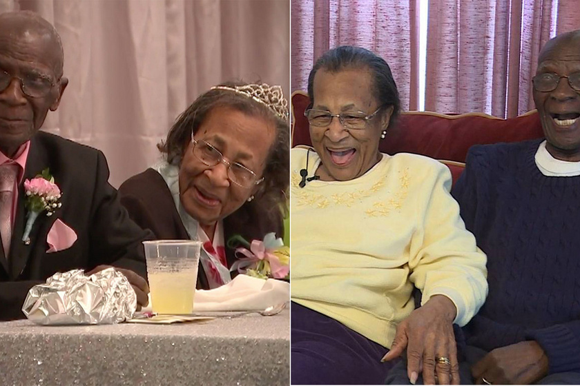 82. házassági évfordulójukat ünnepelte az idős pár: a 100 éves nő elárulta, mi a titkuk