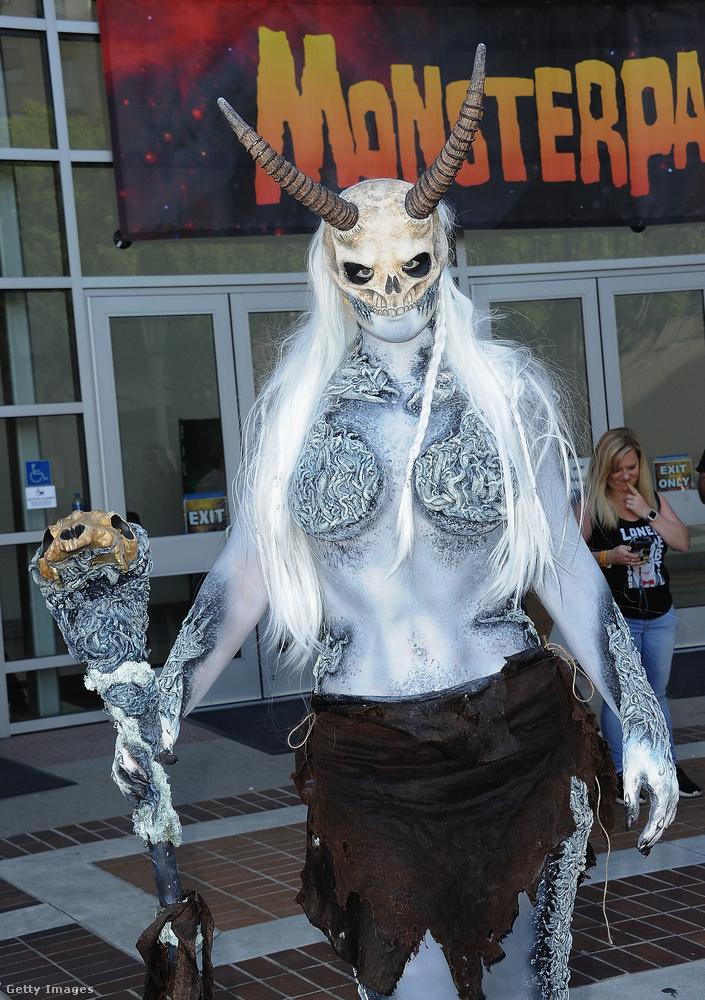 Üdvözöljük önt a Monsterpalooza nevű rendezvényen, amit a kaliforniai Pasadenában tartottak a múlt hétvégén