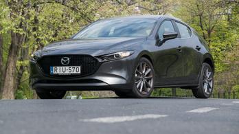 Teszt: Mazda 3 G122 Plus - 2019.