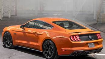 Turbó-tuningot kap a Ford Mustang
