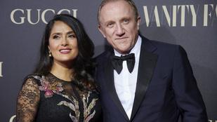 Salma Hayek férje 113 millió dollárt adományozott a Notre-Dame székesegyház felújítására