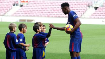 Futballakadémiát nyit Pesten a Barca