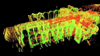 Néhány éve készült lézeres térkép segíthet a Notre-Dame újjáépítésében