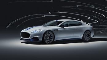 Az Aston Martin is bemutatta az első elektromos autóját