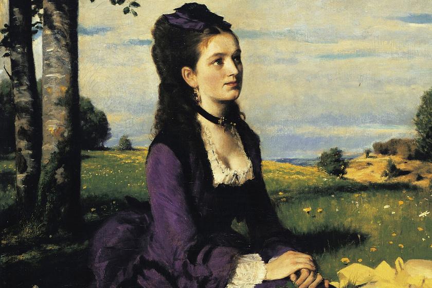 A magyar Mona Lisaként emlegetik a festményt: Szinyei többször újrafestette a titokzatos nőt