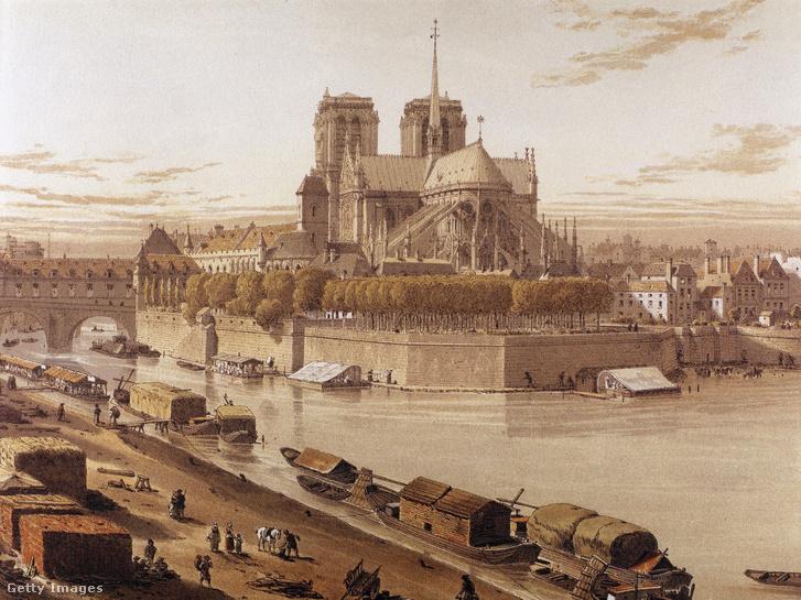 A Notre-Dame 1750-ben.