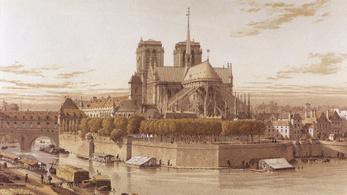 Évszázadokon át voltak bajok a Notre-Dame-mal