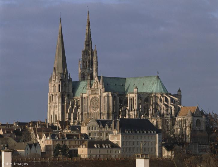 A chartres-i katedrális