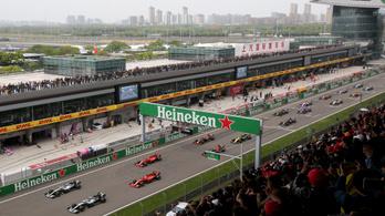 Kína még egy F1-futamot akar