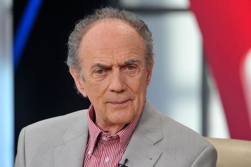 Bács Ferenc 2013 májusában, a Hogy volt!? című tévéműsor felvételén, mely a 77. születésnapja alkalmából készült.