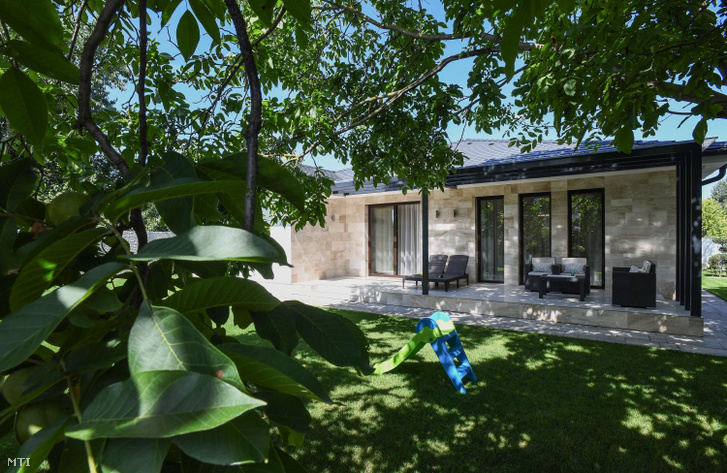 A Nemes család debreceni háza, melyet 2018-ban építettek a CSOK segítségével