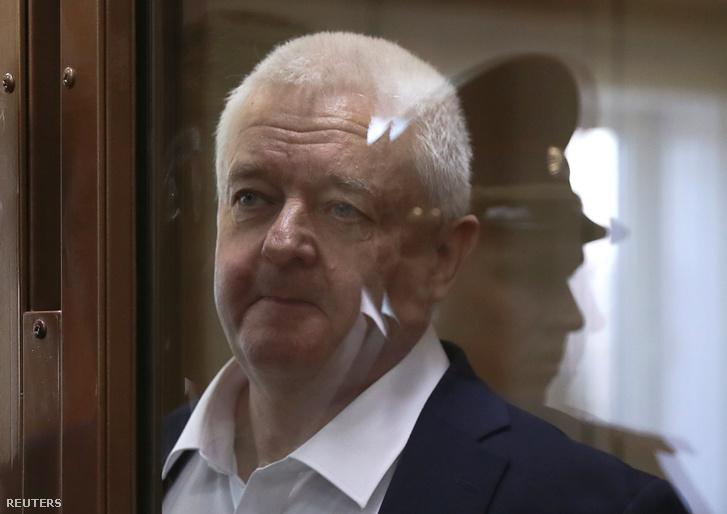 Frode Berg Moszkvában a bíróságon