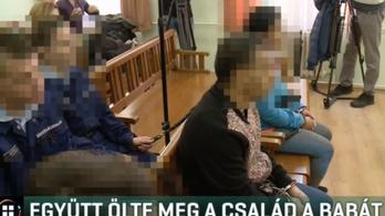 Egy újszülött meggyilkolása miatt ítéltek el egy boldvai házaspárt és lányukat