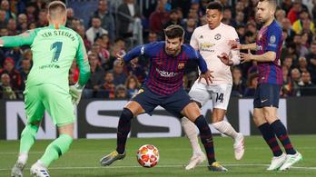 Az Ajax kitütötte a Juvét, Messiék a Unitedet