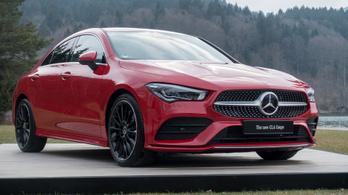 Bemutató: Mercedes CLA – 2019.