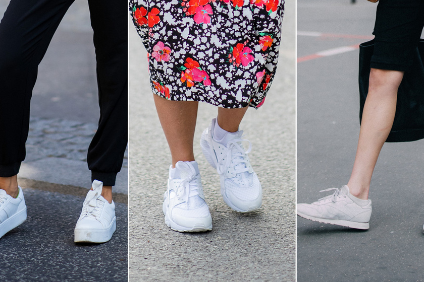 A fehér cipő a legdivatosabb a szezonban - Kényelmes, nőies, 10 ezer forint alatti darabokat mutatunk