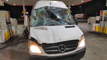 A rendőrök kifejezetten megtiltották a román sofőrnek a romkisbusz használatát