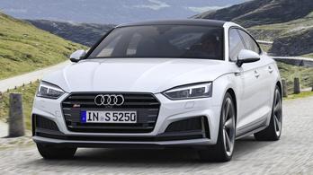 Dízelmotort kapnak az Audi S5-ök