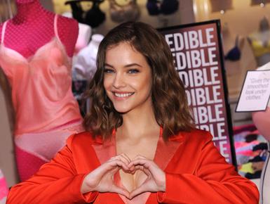 Palvin Barbara bemutatta a Victoria's Secret új kollekcióját
